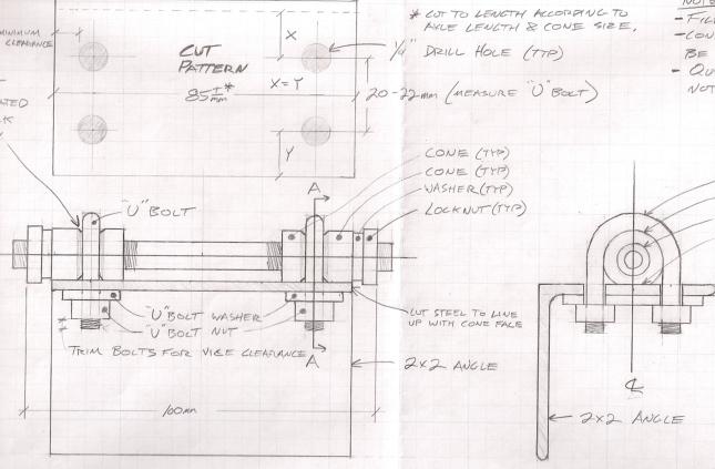 Build Bench Vise Hardware DIY PDF instructions plans