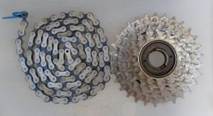Sekai 2400 Freewheel and Chain